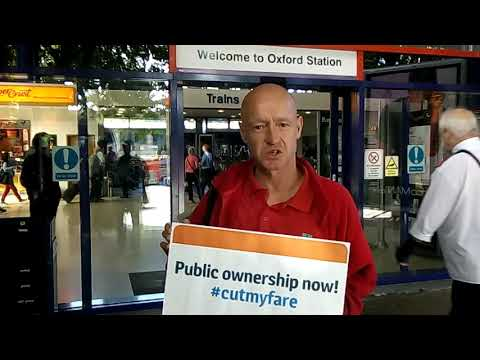 #cutmyfare - public ownership would be fairer