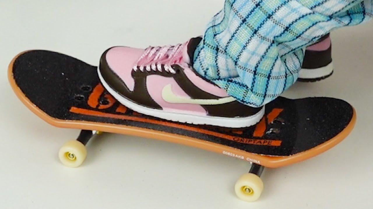 Christmas Gifts | New Finger Skateboard | New Finger Nike Shoes | Finger Skateboarding | Tech Deck