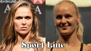 vuclip Ronda Rousey vs Valentina Shevchenko 2016 // •Strength!•