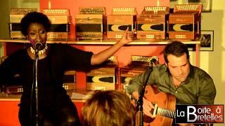 """Concert """" Dans la Boite"""" avec Ndeye Mboup et Kévin Doublé 8 novembre 2018 à La Boite à Bretelles"""