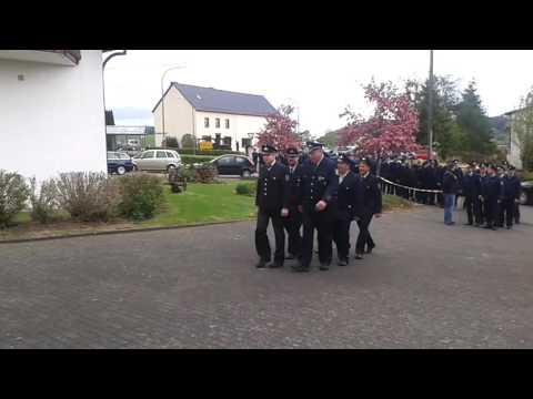 Offizieller Einmarsch FF VG Obere Kyll/Gerolstein/Blankenheim/Prüm • 42. VG-Feuerwehrtag Auel