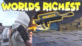 Worlds Richest Scammer Scammed Himself (Scammer Gets Scammed) Fortnite Save The World
