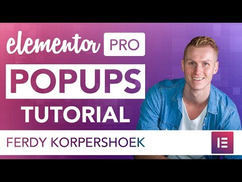 Elementor Pro Popups Tutorial | BRAND NEW FEATURE