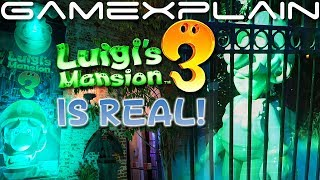 Nintendo Made a Real-Life Luigi's Mansion 3! We Explore LM3's Garden Suites Come-to-Life!