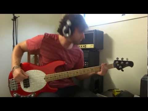 tool - stinkfist bass cover