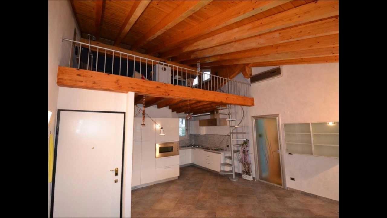 Appartamento Tutto Travi A Vista Con Mansarda A San Felice Del