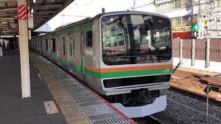 E231系1000番台ヤマU520編成大宮発車