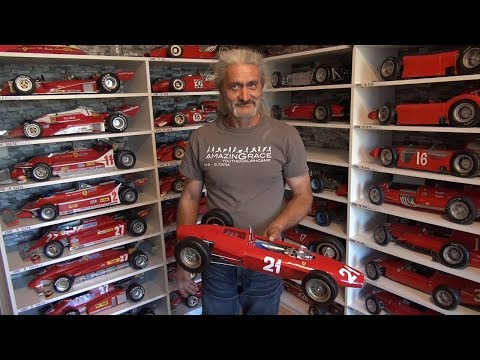 Ferrari F1 Models Amazing Collection Of Milan Paulus Youtube