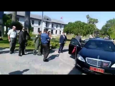 Muğla Valisi Amir Çiçek veda etti