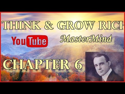 Think And Grow Rich Chapter 6 IMAGINATION Napoleon Hill Full 1937 Version Audio Book