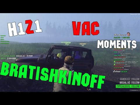 H1Z1 Bratishkinoff  VAC moments , MLG 360