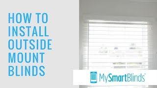 How to Install Outside Mount Blinds Mp3