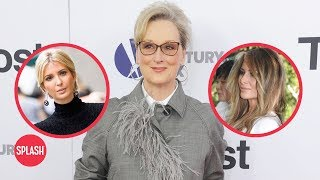 Meryl Streep Calls Out Melania and Ivanka Trump | Daily Celebrity News | Splash TV