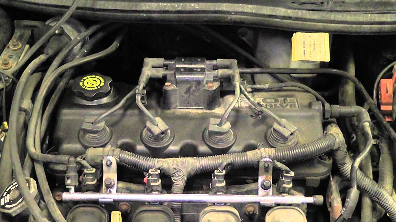 1998 Ford Contour Vacuum Hose Diagram Detailed Schematics 2 0 Engine Misfire Caused By A Leak Youtube 2000 Windstar Heater