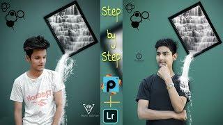 3D poster photo editing tutorial // picsart & lightroom // instagram viral editing