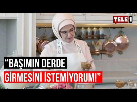 Metin Uca'dan Emine Erdoğan'a yanıt: Yazın kurutmadığın mangolar...