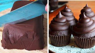 Best for Chocolate   So Yummy Dark Chocolate Cake Ideas   Perfect Cake Decorating Recipes смотреть онлайн в хорошем качестве - VIDEOOO