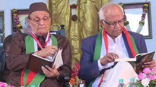 Revered Prof. Dr. Vishwanath Karad welcoming the Chief Guests