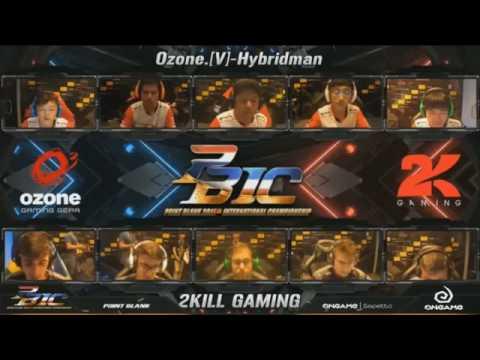PBIC 2016 Semifinal - [Brazil] 2kill Gaming Vs Ozone Gaming [Thailand]