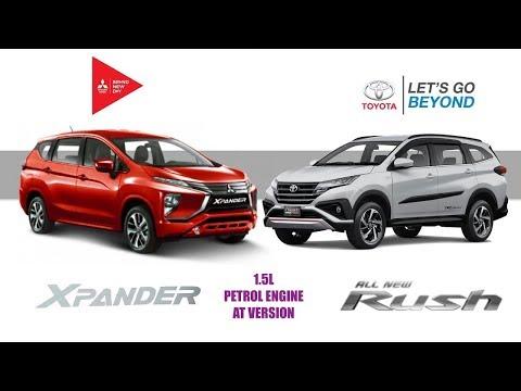 Toyota Rush 1 5 AT giá 668 triệu có làm khó cho Mitsubishi Xpander 1 5 AT