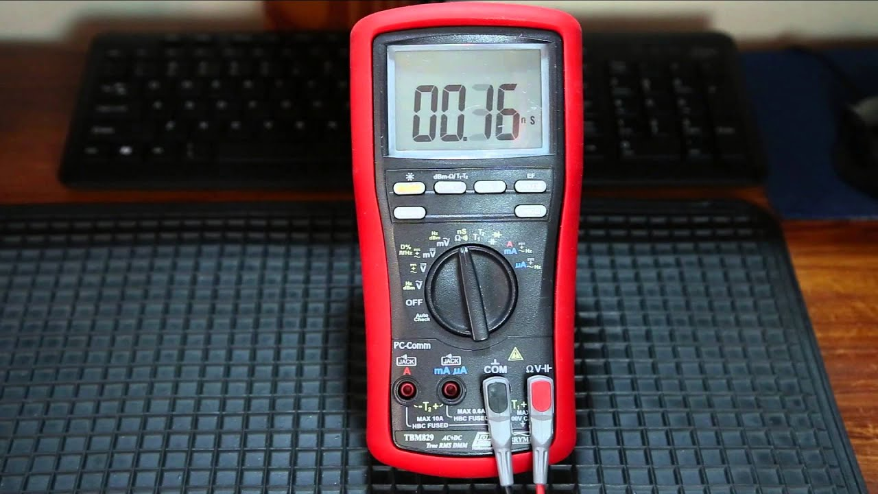 Evione Electronics Brymen TBM829 Review
