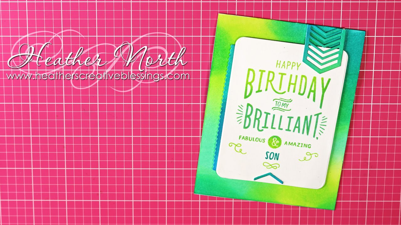 Fill In The Blanks Birthday Card