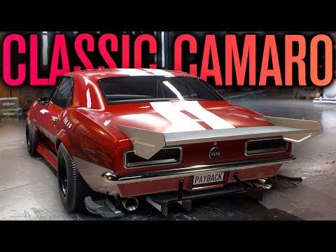 Need for Speed Payback | 1967 CAMARO SS CUSTOMIZATION GAMEPLAY!
