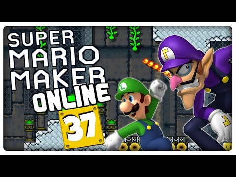 "SUPER MARIO MAKER ONLINE Part 37: ""Luigi wins by doing absolutely nothing"""