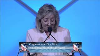 The Honorable Dina Titus, Congresswoman, U.S. House of Representatives