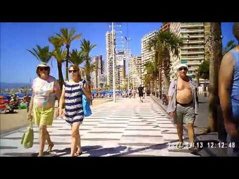 our day in benidorm 2017