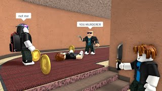 ROBLOX Murder Mystery 2 Funny Moments (LAG)