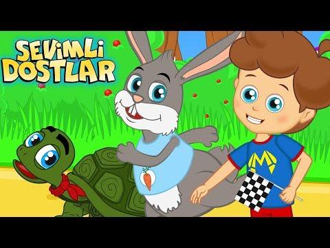 Tavşan Ile Kaplumbağa şarkısı 🐢(YENİ)   Sevimli Dostlar Bebek Şarkıları   Adisebaba Çocuk Şarkıları