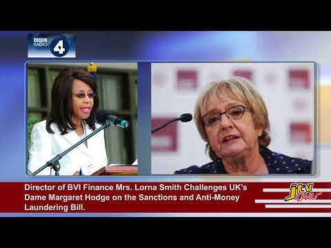 JTV NEWS UPDATE   BVI FINANCE's LORNA SMITH vs UK's DAME MARGARET HODGE