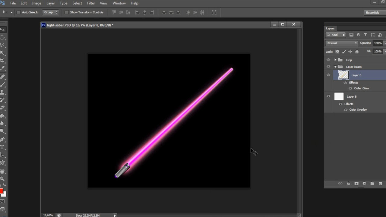 Photoshop star wars lightsaber tutorial on white and black photoshop star wars lightsaber tutorial on white and black background baditri Images