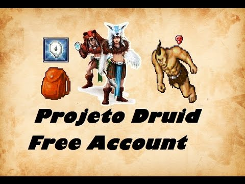 Projeto Druid Free Account #2 Bag Loot Runer Hunt HC
