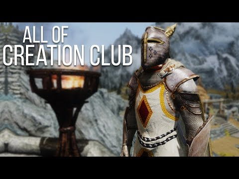 An Overview of Every Mod in Skyrim's Creation Club