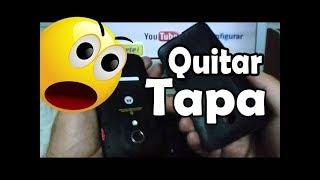 como quitar la tapa de la bateria Motorola Moto G XT1032 En Español YouTube Full HD