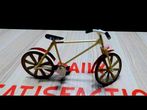 DIY Realistic Miniature Bicycle - Mini Homemade Bike - Homemade Bicycle thumbnail