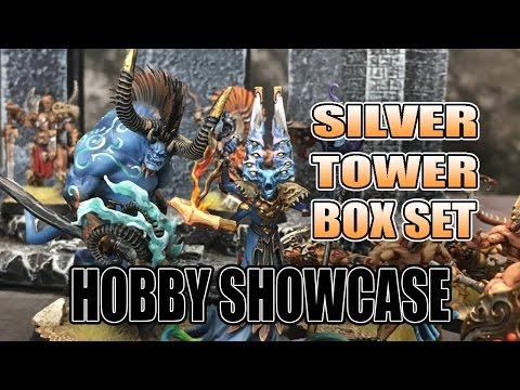 Painted Warhammer Quest Silver Tower Hobby Showcase