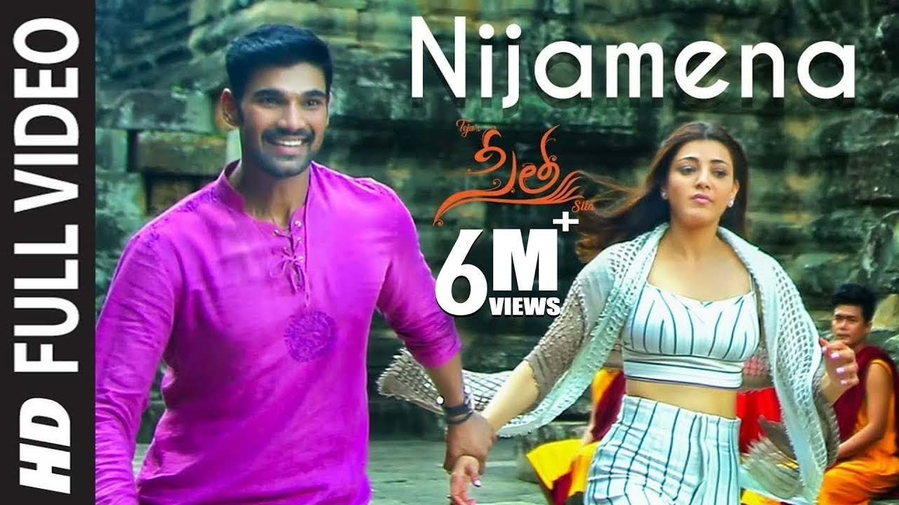 Download Nijamena Video Song   Sita Telugu Movie   Bellamkonda Sai Sreenivas, Kajal Aggarwal   Anup Rubens