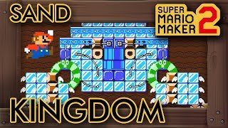 "Super Mario Maker 2 - Incredible ""Odyssey Sand Kingdom"" Level"