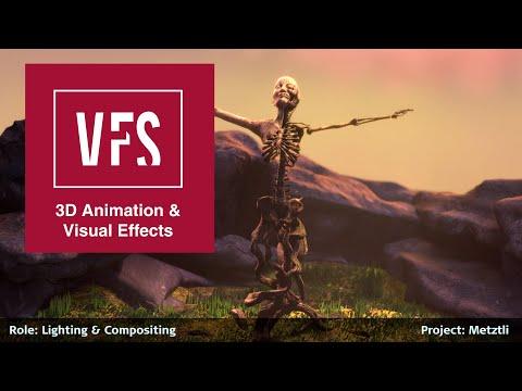 Lighting Reel by Kathleen Helter - Vancouver Film School (VFS)