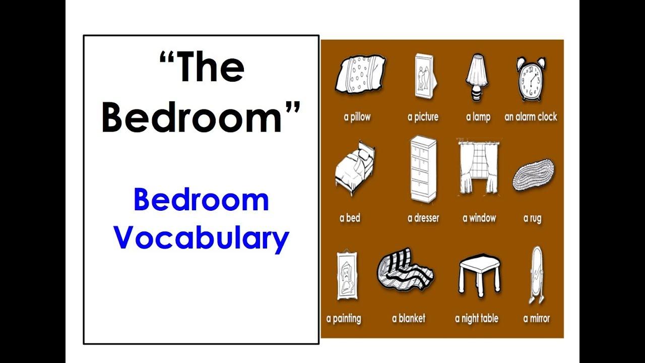 Words for bedroom