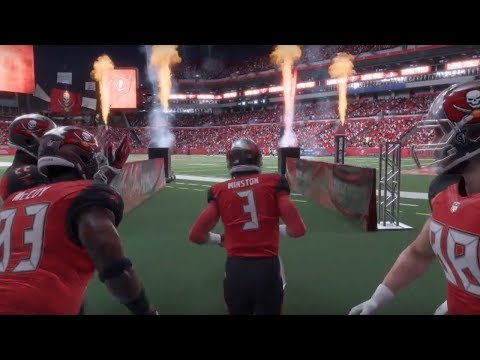 Madden NFL 18 | Patriots vs Buccaneers Thursday Night Football Gameplay
