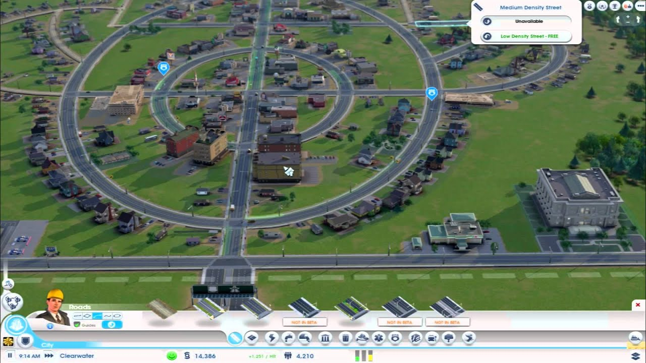 SIMCITY GAMES
