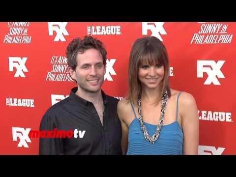 Glenn Howerton and Jill Latiano FXX