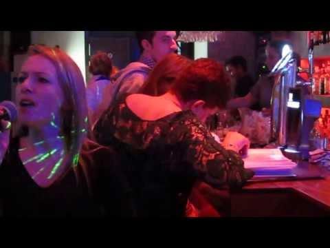 Pink I know better at Tre Angeli Karaoke bar sliema Malta