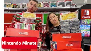 'Anything You Can Carry' Nintendo Shopping Spree CHALLENGE 🛍️ Nintendo Minute