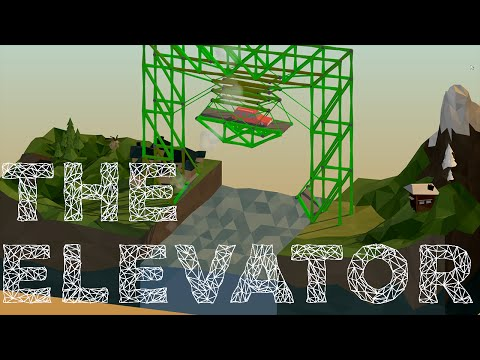 Poly Bridge Sandbox Creations Part 1: The Elevator
