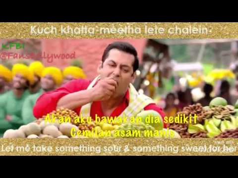 Aaj Unse - OST Prem Ratan Dhan Payo with Indonesia Lyric